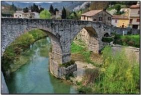Ponte romanico sul Metauro